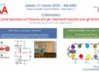 21 marzo 2020 – Milano – Il convegno sulle IAA rivolto a operatori sanitari, del sociale ed educativi